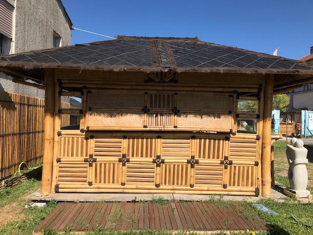 Abri pour spa - Vente abris de jardin en bambou et mobilier ...