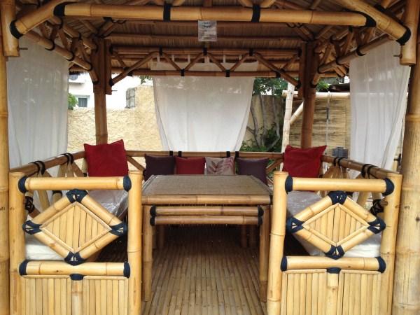 Paillote gazebo - Vente abris de jardin en bambou et mobilier exotique