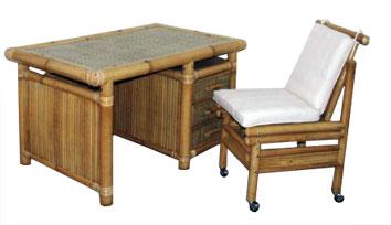 Bureau en bambou vente abris de jardin en bambou et mobilier