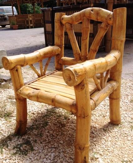 fauteuil en bambou - Fauteuil Bambou