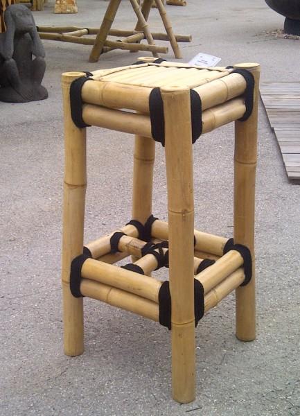 tabouret de bar en bambou vente abris de jardin en bambou et mobilier exotique. Black Bedroom Furniture Sets. Home Design Ideas
