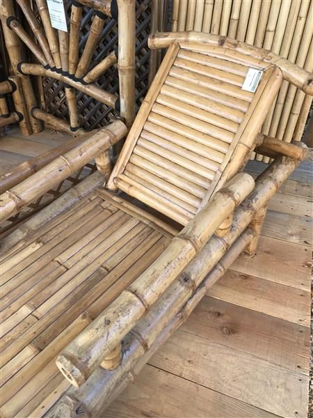 """Bain de soleil en bambou """"ORI"""""""