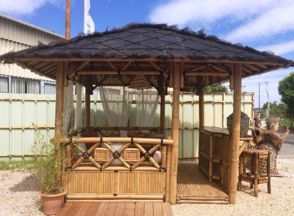Vente abris de jardin en bambou et mobilier exotique ...