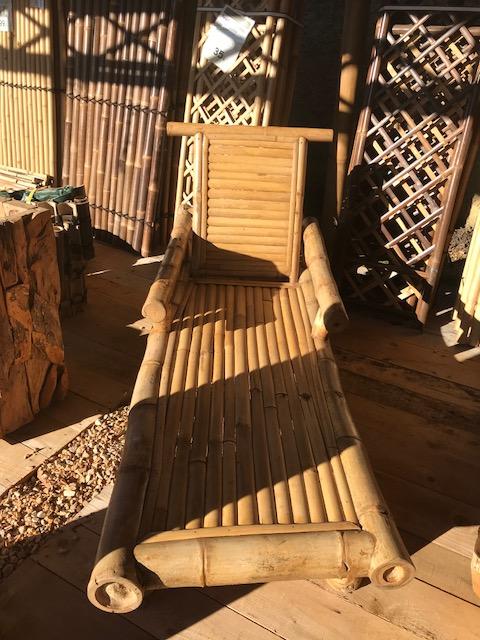 Bain de soleil en bambou