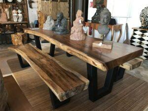 Table et bancs en SUAR