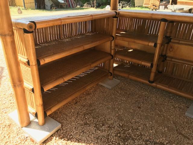 bar ext rieur en bambou vente abris de jardin en bambou. Black Bedroom Furniture Sets. Home Design Ideas