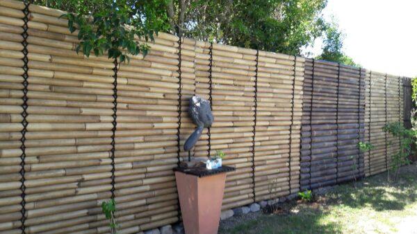 Panneaux de clôture en bambou