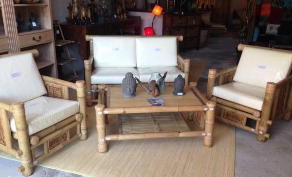 salon en bambou vente abris de jardin en bambou et mobilier exotique. Black Bedroom Furniture Sets. Home Design Ideas