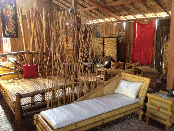 Mobiliers en bambou