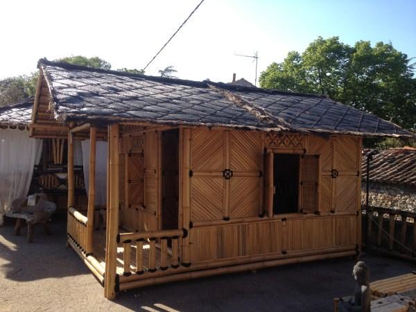 Maison en bambou - Vente abris de jardin en bambou et mobilier exotique