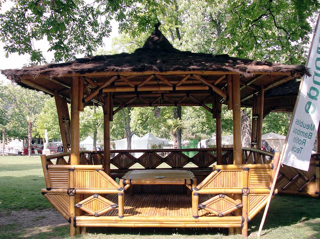 Best Maison De Jardin En Bambou Images - House Interior ...