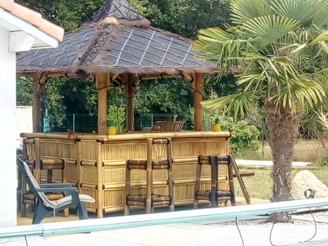 bar ext rieur en bambou vente abris de jardin en bambou et mobilier exotique. Black Bedroom Furniture Sets. Home Design Ideas